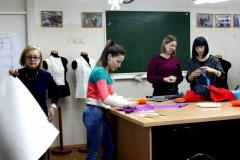 Творческое пространство «Школы IVANOVA кутюрье», проекта возражающего портновское искусство и творческий подход к изготовлению одежды.