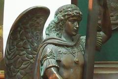 Модель в масштабе скульптуры Св. Архистратига Михаила.
